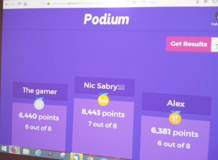 Creating quizzes in English using the App KAHOOT – CLIL and CALL