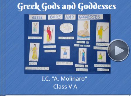 """Greek Gods and Goddesses"" – Storyjumper -book- Class V A Primary School – Ins.ti Romoli/Castiello/Belli"